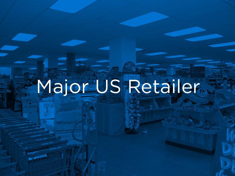Major US Retailer